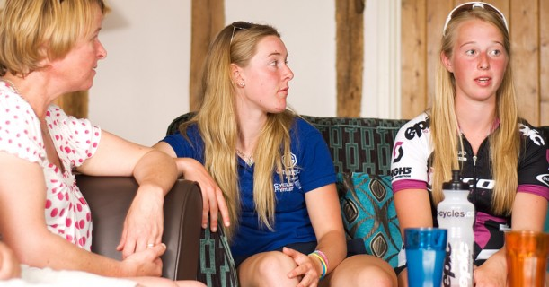 The sisters are confident about the future of women's pro racing